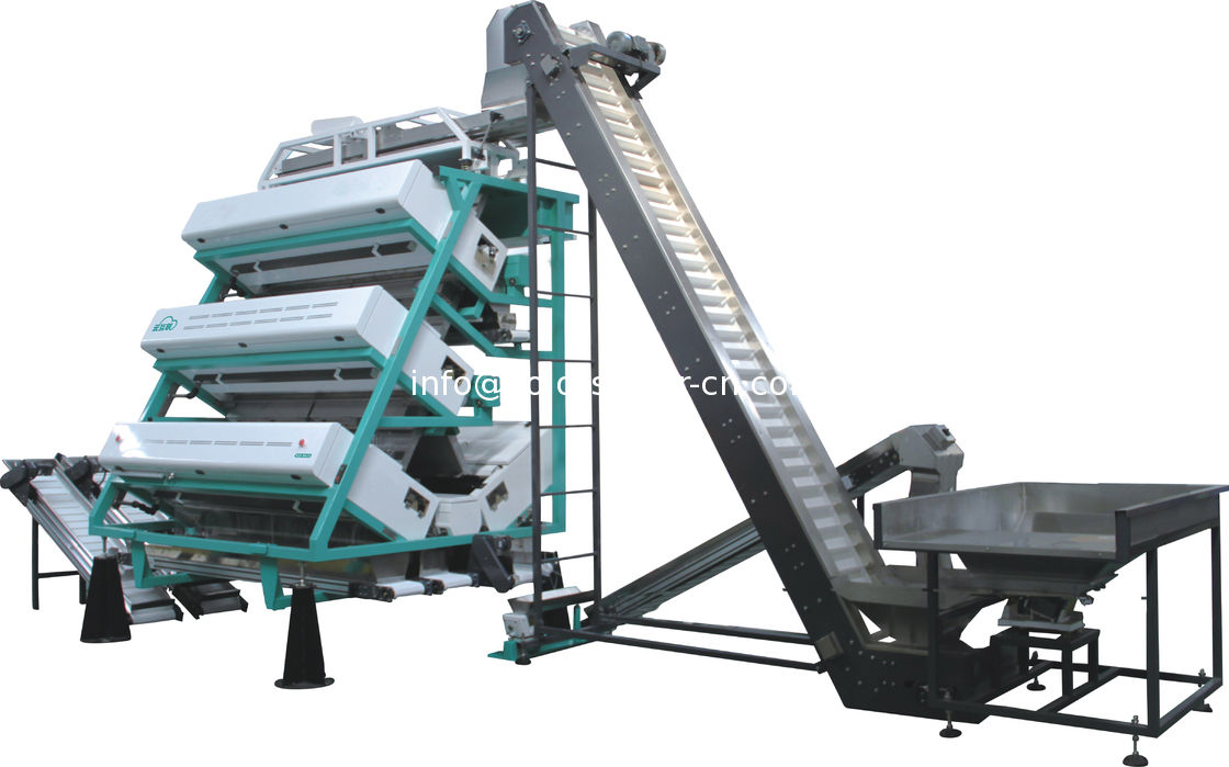 China tea color sorter machine ,sort the tea leaf by color and shape
