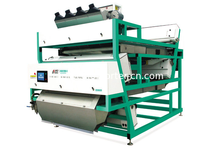 shrimp color sorter,CCD Color Sorter for seafood, belt color sorting machine sort by color and shape.