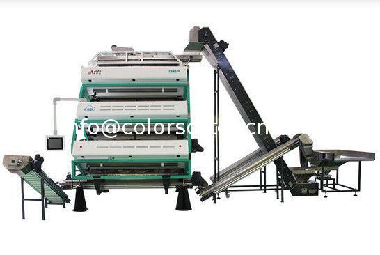 T4V1-6 tea color sorter machine,with reverse sorting function,4 stages tea sorting machine